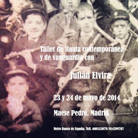 Taller de flauta contemporánea y de vanguardia